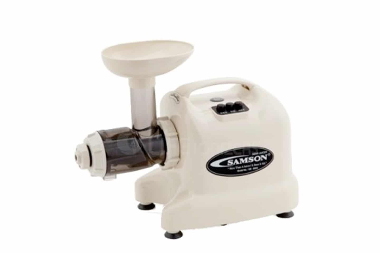 Samson 6-in-1 Masticating Juice Extractor Review | Juicing Journal
