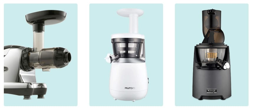 types of masticating juicers