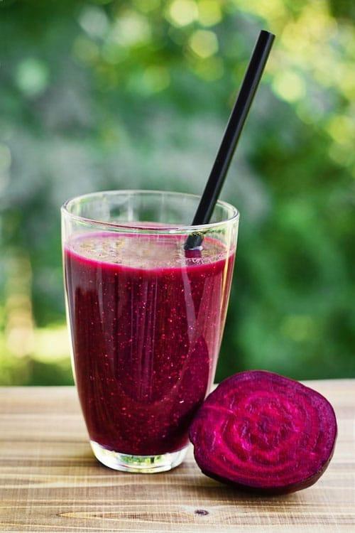 blood building beet drink