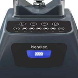 Blendtec Classic 575 controls