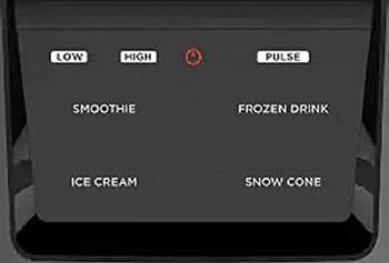 ninja intellisense blender control panel