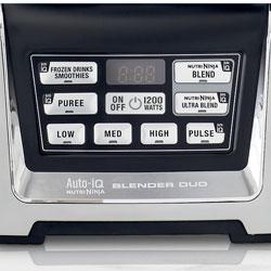 ninja blender 1200 control panel