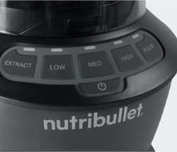Nutribullet Blender Combo Control Panel
