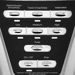 oster pro 1200 blender control panel