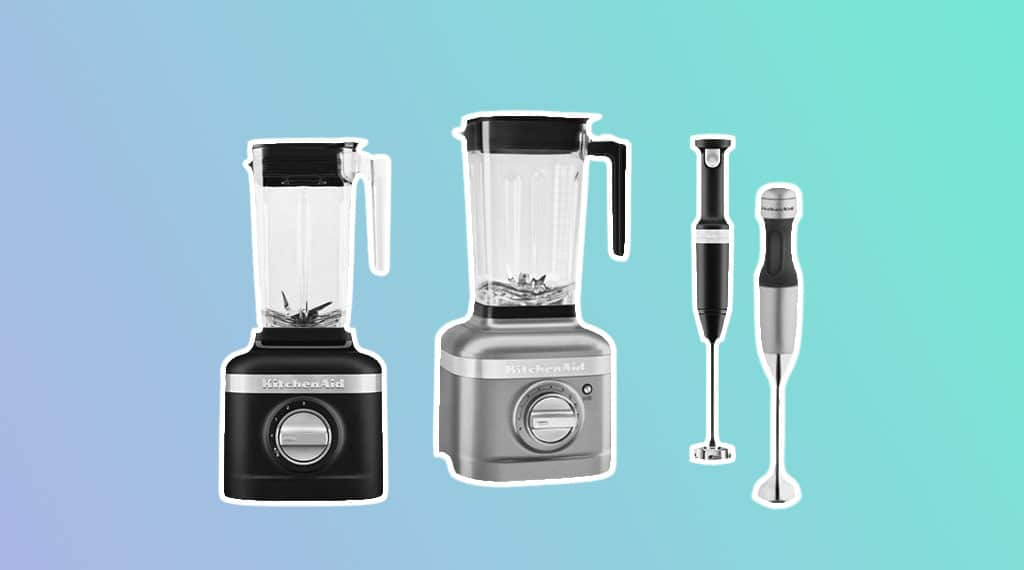 the best kitchenaid blenders, countertop & immersion blending machines
