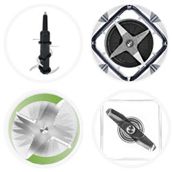 Blender blade designs