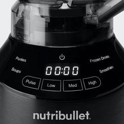 Nutribullet Smart Touch Blender Controls