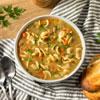 Hot Chicken Noodles Soup